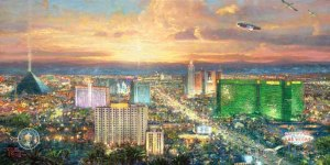 But he couldn't even paint Vegas without oversaturation! No, be nice Justin, be nice...