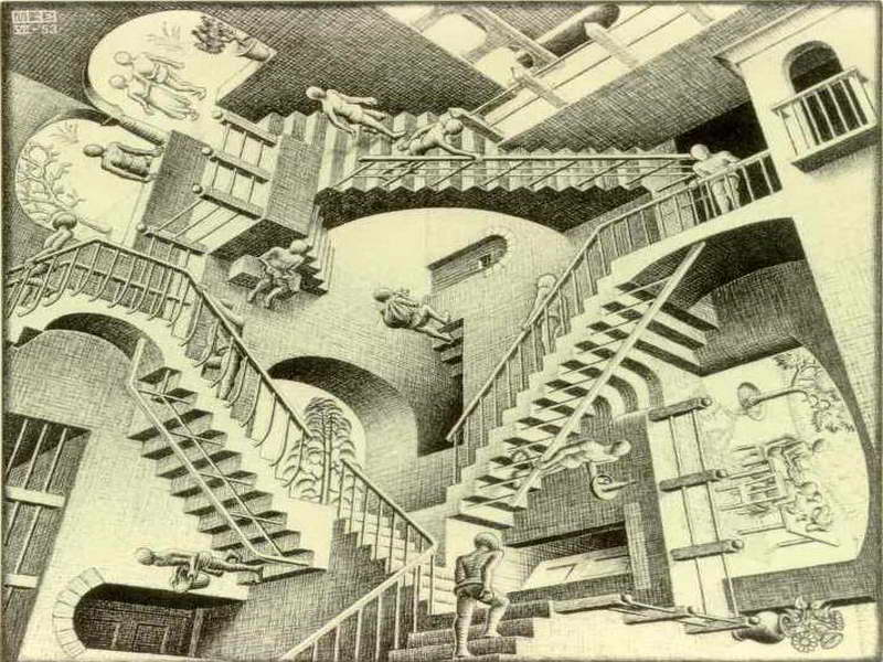 Optical Illusions Impossible Stairs Llll