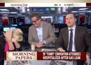 "If you count Morning Joe as ""news."""